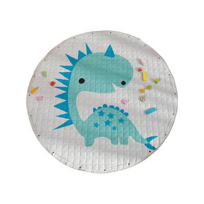 Circular Fabric Baby Crawling Pad